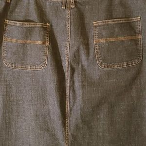 Ashley Stewart Skirts - 💥Flash Sale💥 Plus Size Denim Jean Skirt - 18W
